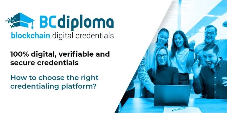 Digital credentials, badges & certificates: how to choose the right credentialing platform?