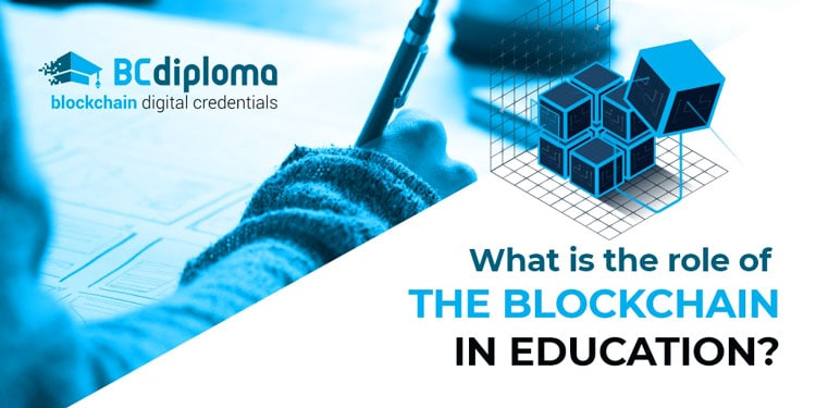 What is the role of the blockchain in education?
