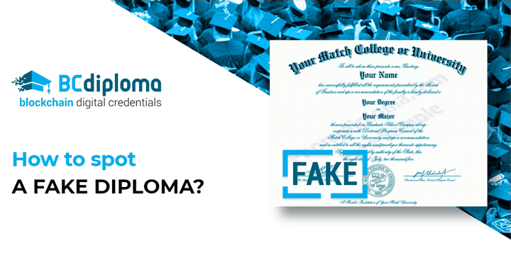 How to spot a fake diploma?