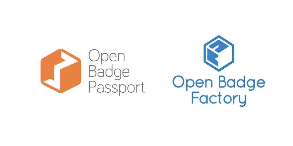 Open badge passport Open badge factory logo